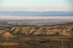 Vista-desde-Santa-Barbara-Zaragoza-con-el-Pirineo-al-fondo