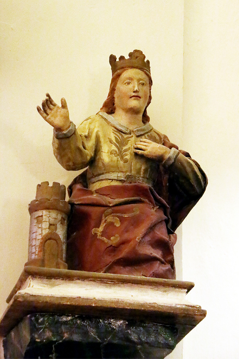 Santa Barbara, iglesia de Botorrita.