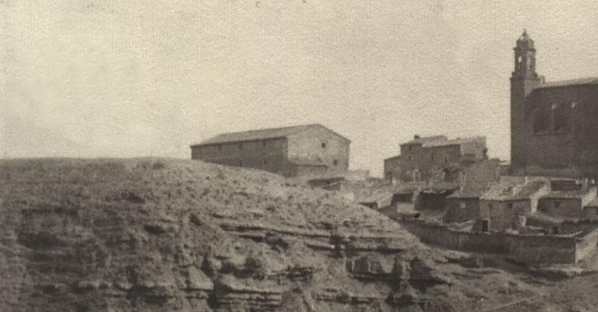 Imagen antigua del granero.
