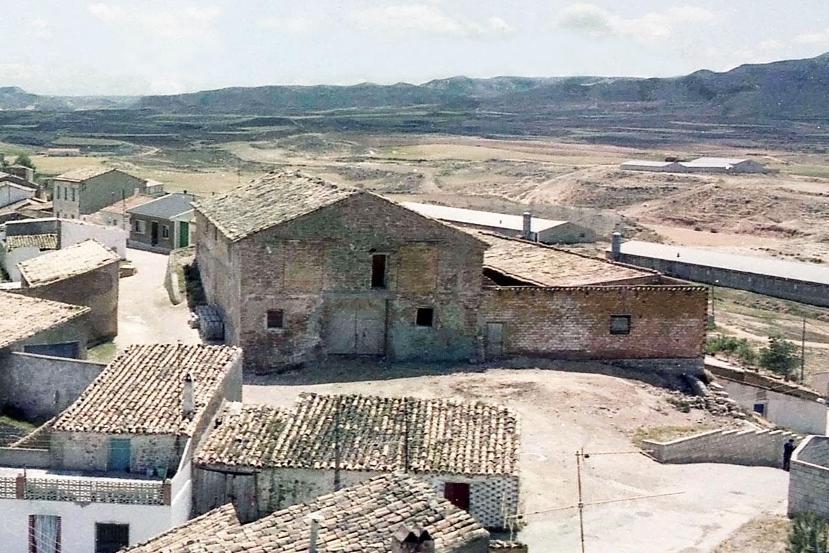El granero a finales de los años 80.