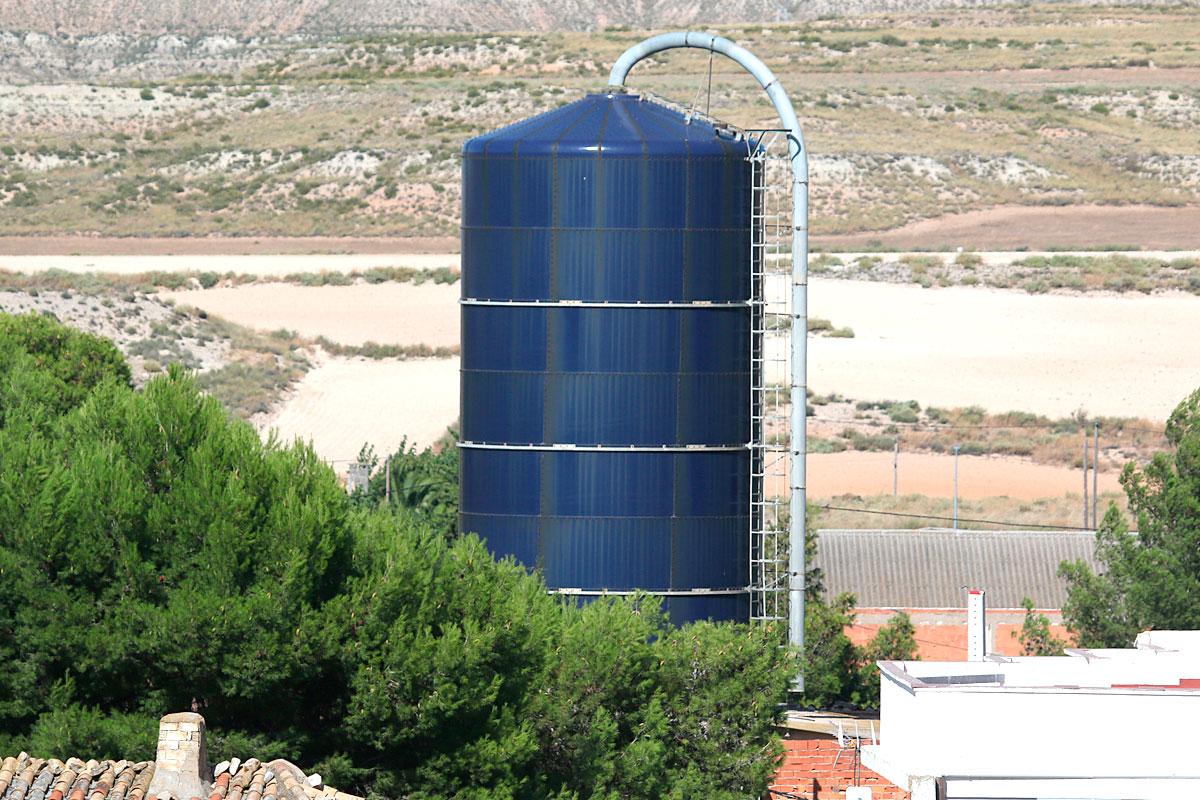 El silo.